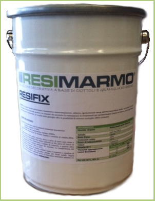 The marble resin - Resin pot RESIFIX