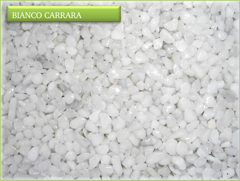 The colours - Color Bianco carrara